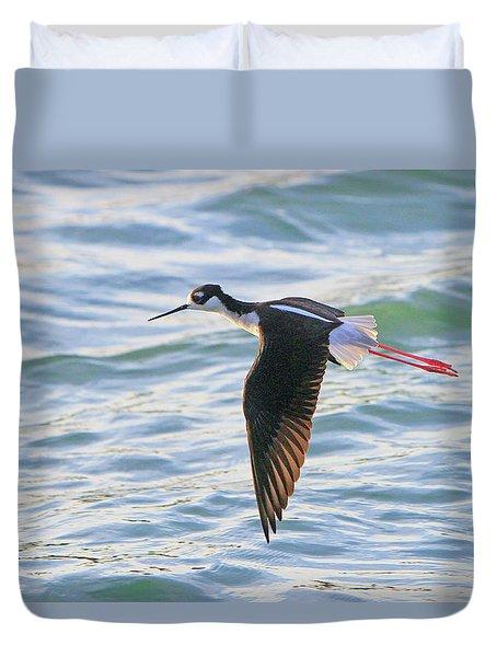Black-necked Stilt 8 Duvet Cover