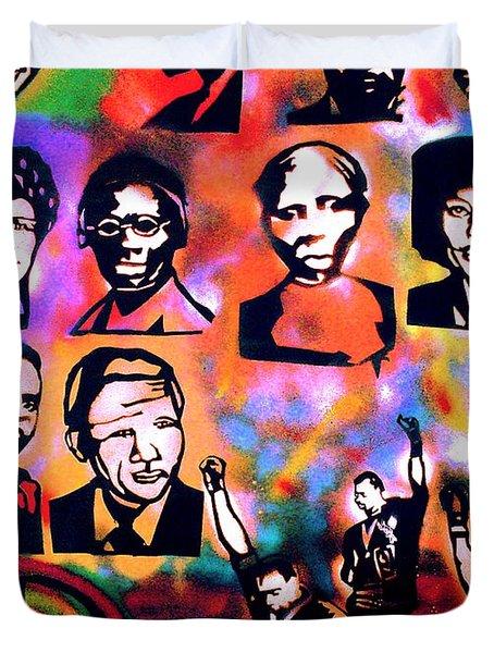 Black Revolution Duvet Cover