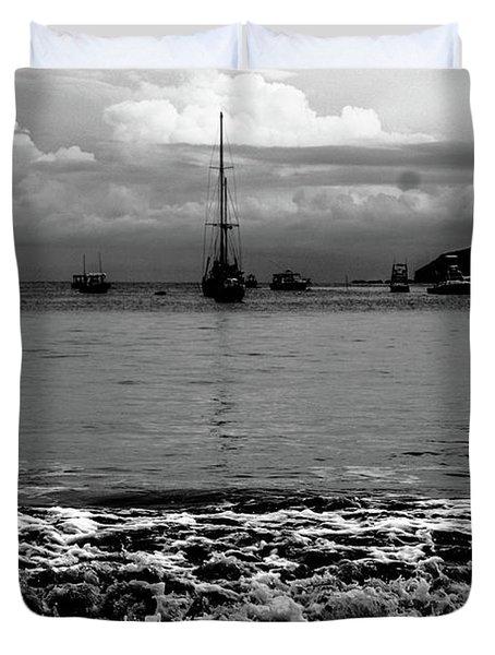 Black Sails Duvet Cover
