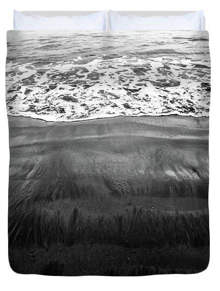 Black Sands  Duvet Cover