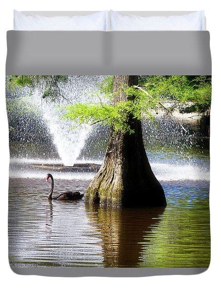 Black Swan Duvet Cover
