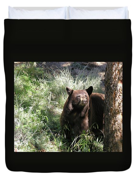 Blackbear3 Duvet Cover