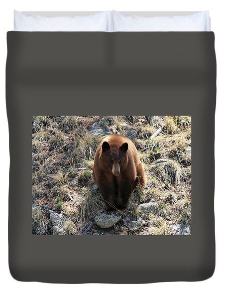 Blackbear4 Duvet Cover