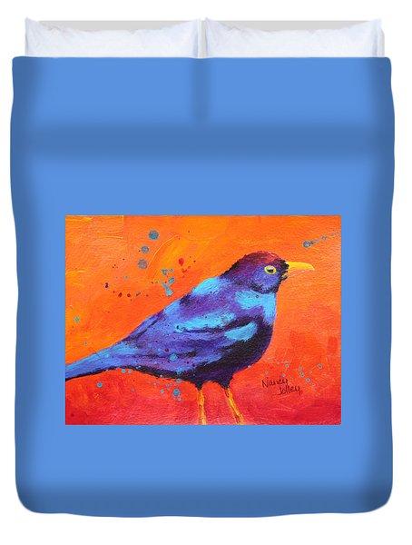 Blackbird II Duvet Cover