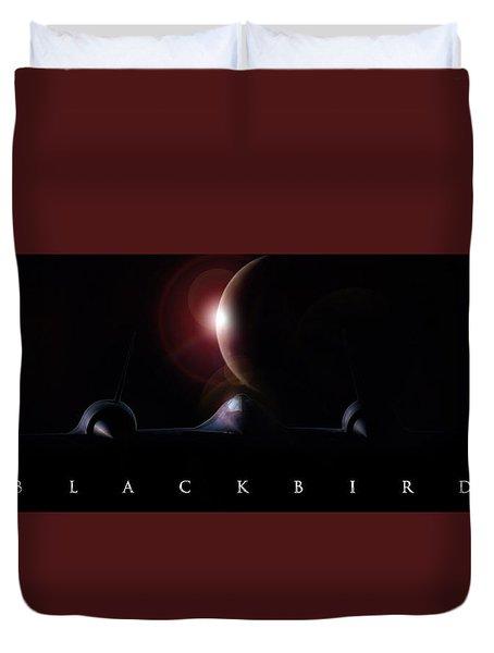 Blackbird Duvet Cover by Peter Chilelli