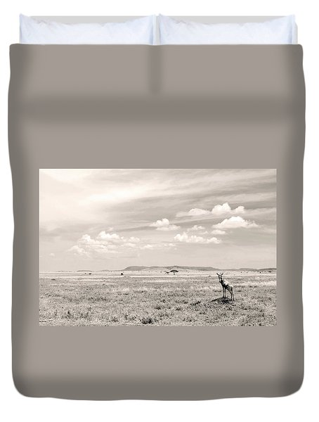 Duvet Cover featuring the photograph Blackbook by Stefano Buonamici