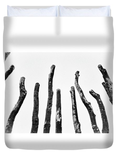 Blackened And Scorched  Duvet Cover