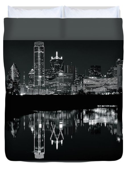 Blackest Night In Big D Duvet Cover