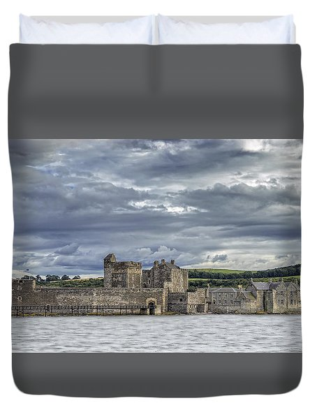 Blackness Castle Duvet Cover
