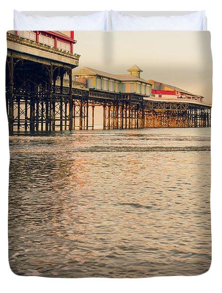 Blackpool Pier  Duvet Cover