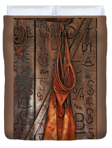 Blacksmith Apron Duvet Cover