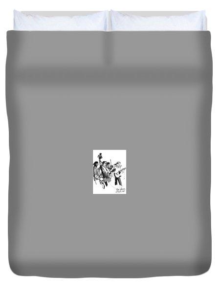 Blacksmith II Duvet Cover