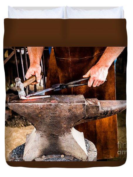 Blacksmith Duvet Cover