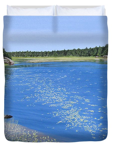 Blackstone Bog Duvet Cover