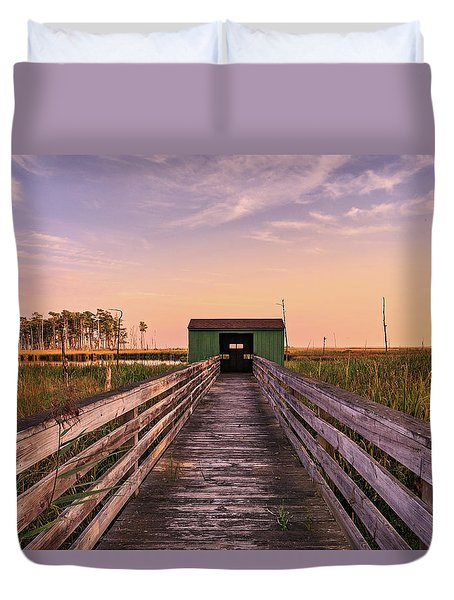Blackwater Blind Duvet Cover