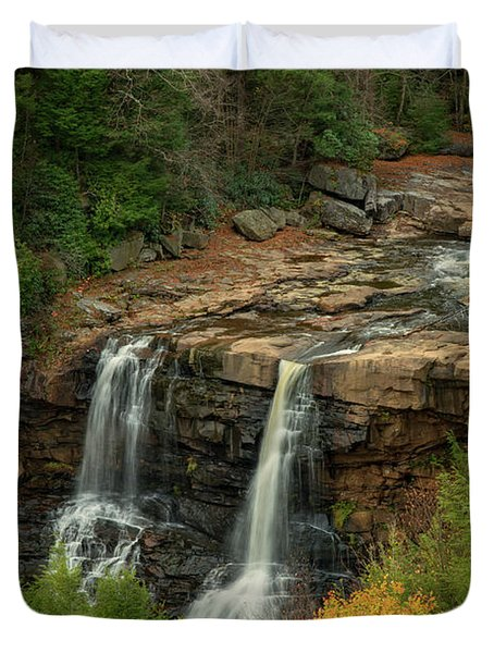 Blackwater Falls Duvet Cover