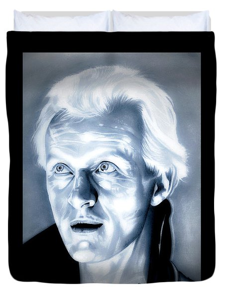 Blade Runner Roy Batty Duvet Cover by Fred Larucci