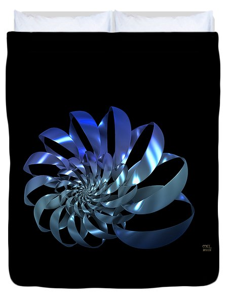 Blades Duvet Cover by Manny Lorenzo