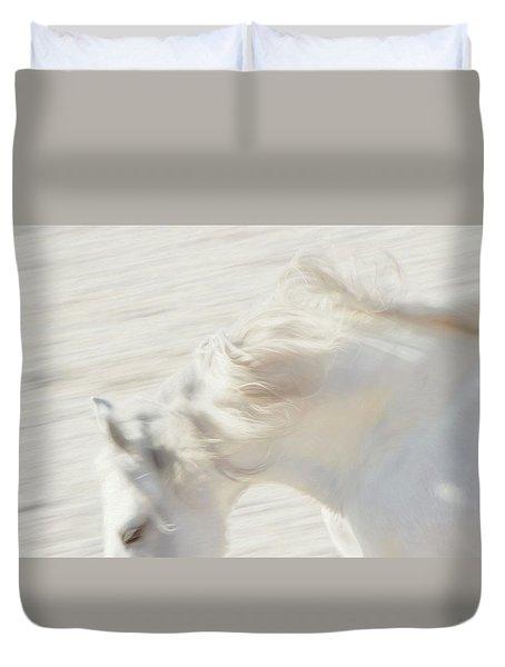 Blanc De Blanc 1 Duvet Cover