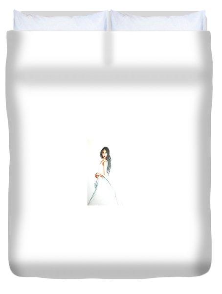 Blanca Duvet Cover