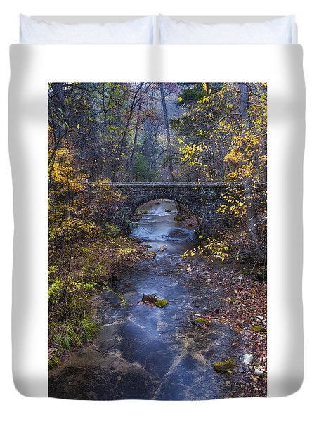 Blanchard Stone Bridge Duvet Cover