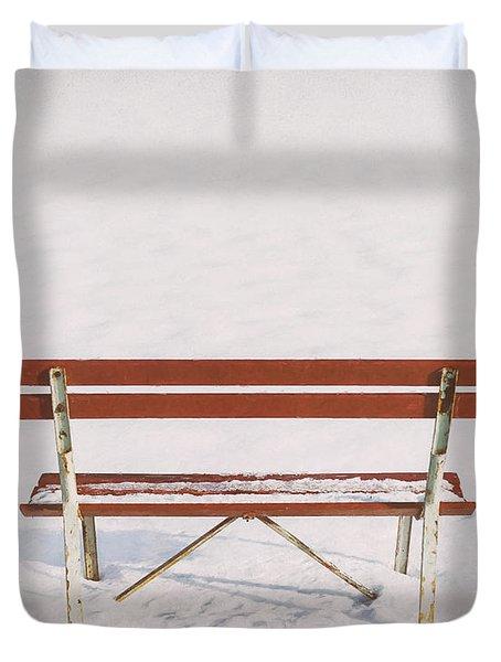 Blank Slate Duvet Cover