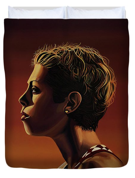 Blanka Vlasic Painting Duvet Cover