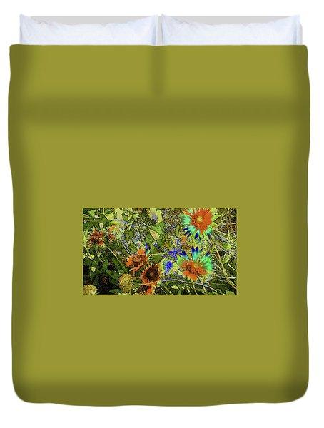Blanket Flower II Duvet Cover