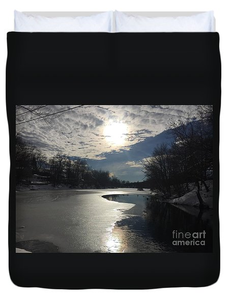 Blanket Of Clouds Duvet Cover