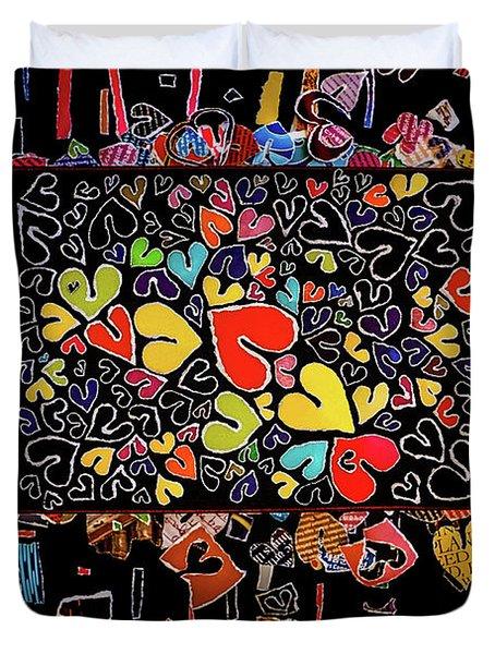 Blanket Of Love  Duvet Cover