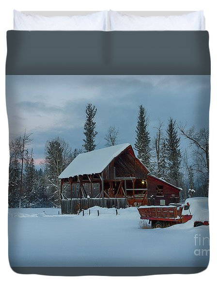Blanketed Duvet Cover
