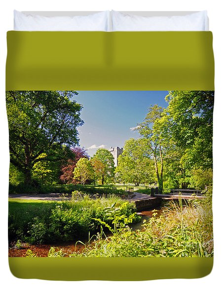 Blarney Castle And Grounds  Duvet Cover