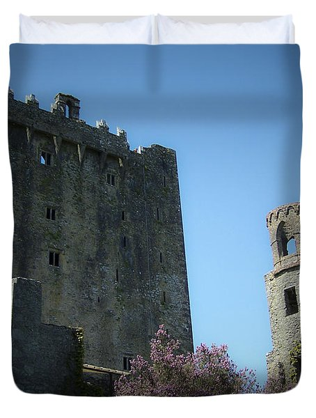 Blarney Castle And Tower County Cork Ireland Duvet Cover by Teresa Mucha