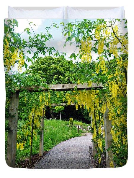 Blarney Castle Gardens Duvet Cover