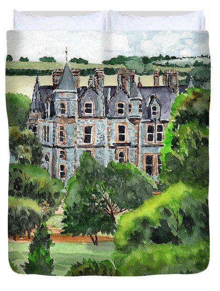 Blarney Castle Duvet Cover