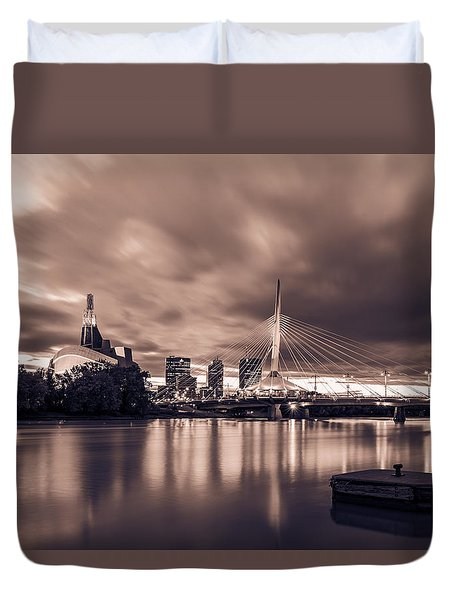 Blast To The Past Duvet Cover