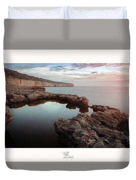 Blata Tal-melh - Salt Rock Duvet Cover