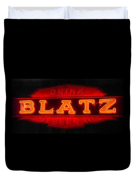 Blatz Beer  Duvet Cover