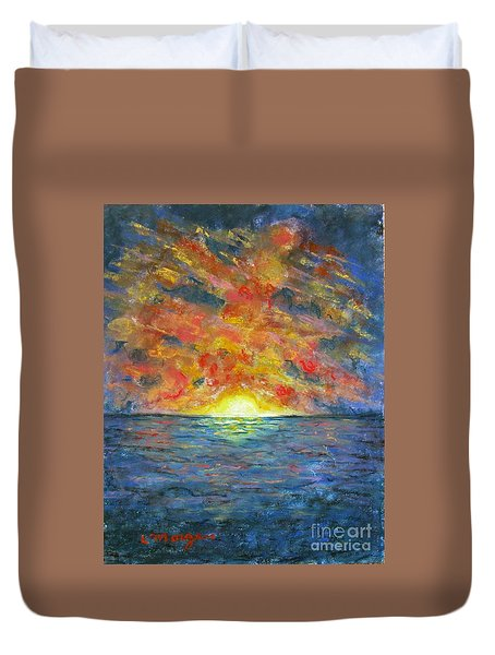 Blazing Glory Duvet Cover
