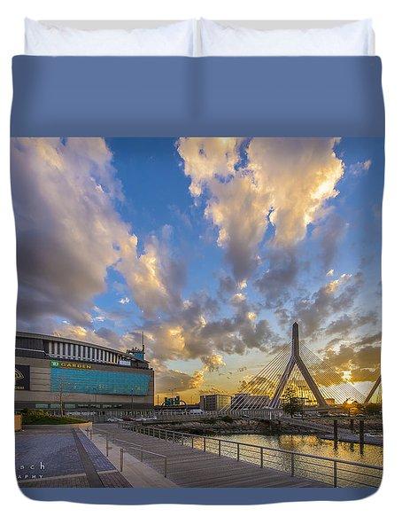 Blazing Sunset Duvet Cover