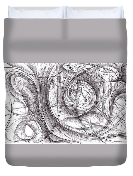 Bleak Migration Duvet Cover