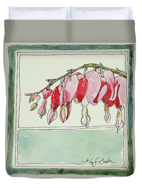 Bleeding Hearts II Duvet Cover