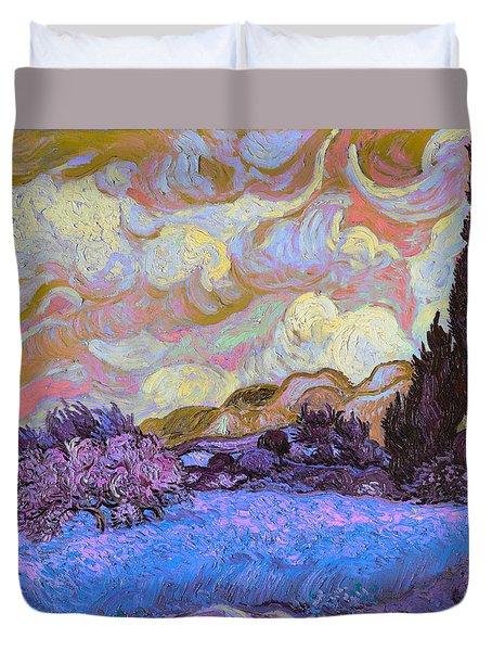 Blend 20 Van Gogh Duvet Cover by David Bridburg