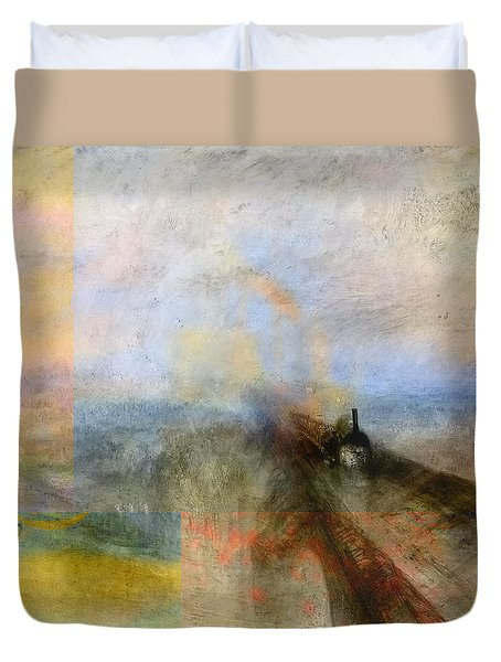 Blend 5 Turner Duvet Cover by David Bridburg