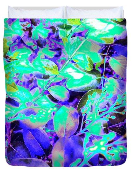 Blended And Bold Duvet Cover by Rachel Hannah