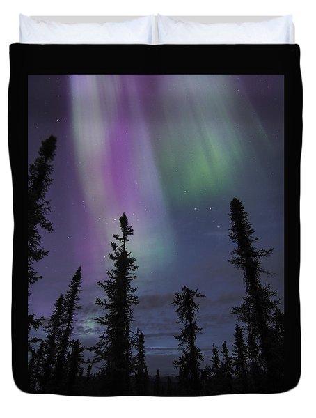 Blended Purples Duvet Cover