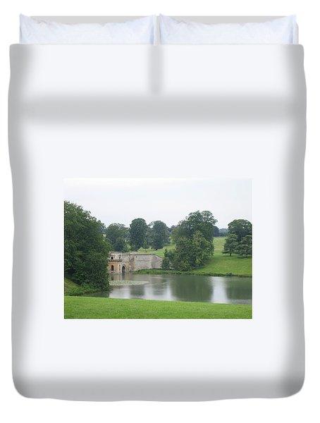 Blenheim Palace Lake Duvet Cover
