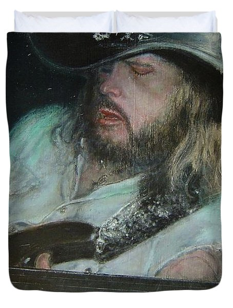 Blues Traveler Duvet Cover