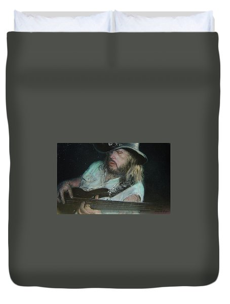 Blues Traveler Duvet Cover