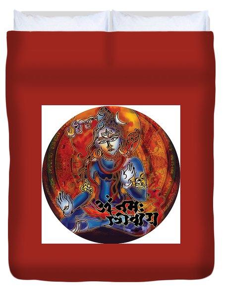 Blessing Shiva Duvet Cover
